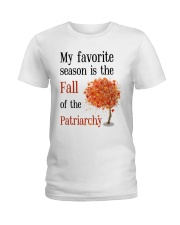 Favorite season fall phone case Ladies T-Shirt thumbnail