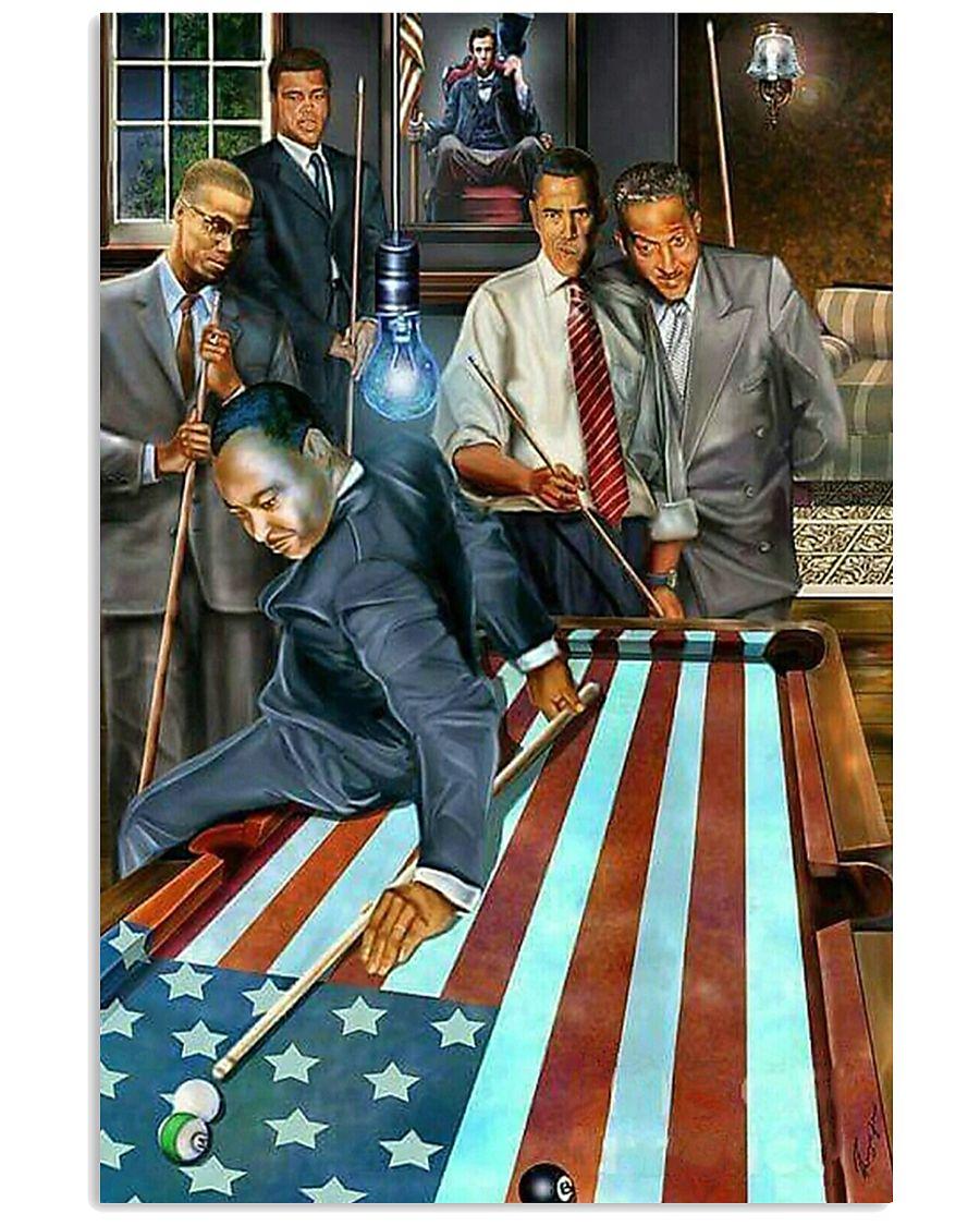 President Billiard 11x17 Poster
