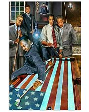 President Billiard 11x17 Poster front