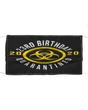 23rd Birthday Quanrantined Cloth face mask thumbnail