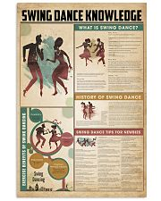 Swing dance knowledge 11x17 Poster front