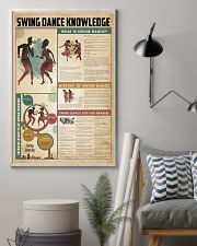 Swing dance knowledge 11x17 Poster lifestyle-poster-1