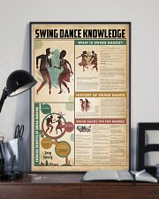 Swing dance knowledge 11x17 Poster lifestyle-poster-2