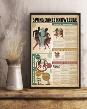 Swing dance knowledge 11x17 Poster lifestyle-poster-3