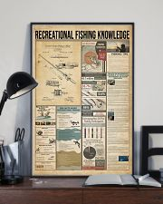 Recreational fishing knowledge 11x17 Poster lifestyle-poster-2