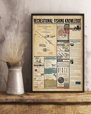 Recreational fishing knowledge 11x17 Poster lifestyle-poster-3