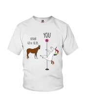 40 Unicorn other you  Youth T-Shirt thumbnail
