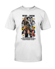 RBG 100 year poster Classic T-Shirt thumbnail