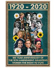 RBG 100 year poster 11x17 Poster front