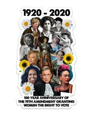 RBG 100 year poster Sticker - Single (Vertical) thumbnail