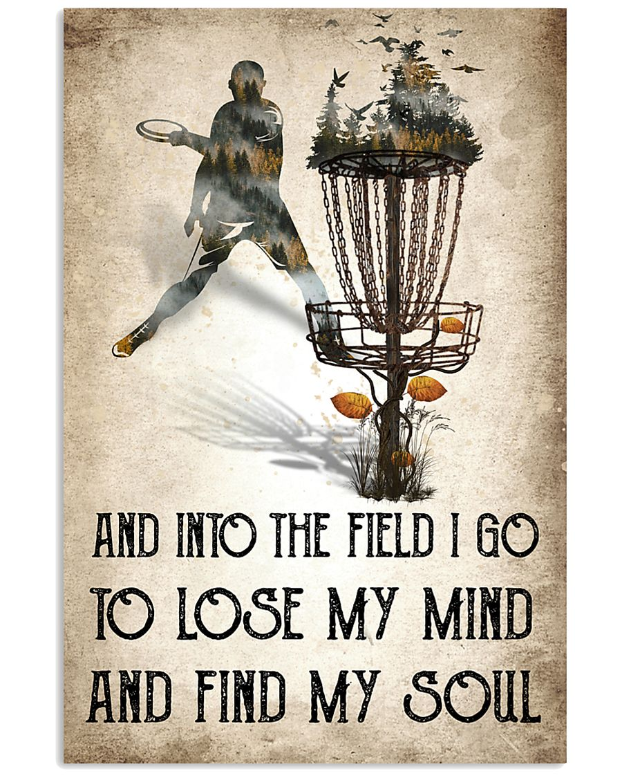 Disc golf Lose My Mind Poster 11x17 Poster