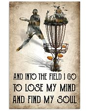 Disc golf Lose My Mind Poster 11x17 Poster front