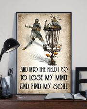 Disc golf Lose My Mind Poster 11x17 Poster lifestyle-poster-2