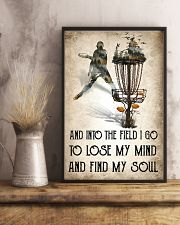 Disc golf Lose My Mind Poster 11x17 Poster lifestyle-poster-3