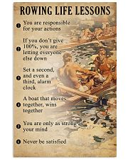 Rowing Life Lessons 11x17 Poster front