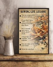 Rowing Life Lessons 11x17 Poster lifestyle-poster-3