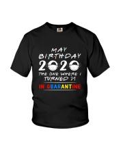 31 May birthday color Youth T-Shirt thumbnail