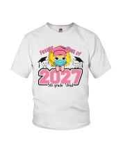 White Girl 5th grade Future grad Youth T-Shirt thumbnail