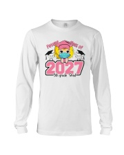 White Girl 5th grade Future grad Long Sleeve Tee thumbnail