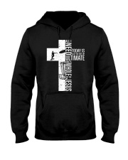Disc Golf Jesus All I Need Today Hooded Sweatshirt thumbnail