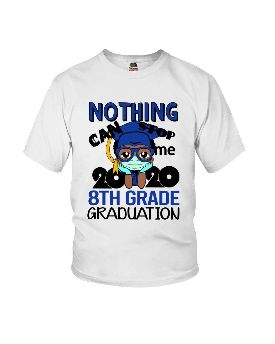 8th grade Boy Nothing Stop Youth T-Shirt