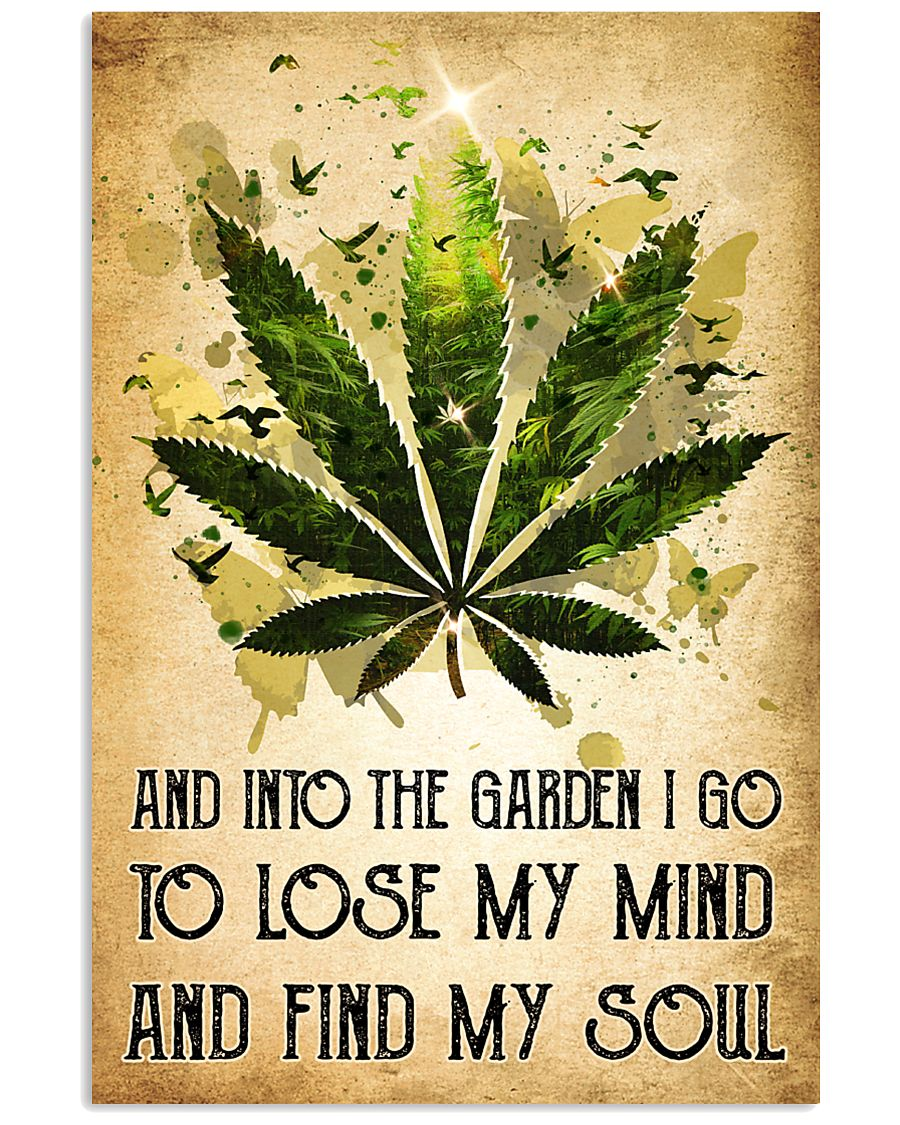Weed Lose My Mind 11x17 Poster