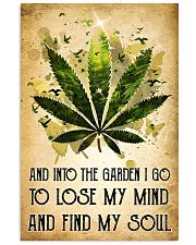 Weed Lose My Mind 11x17 Poster front