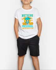 Blonde girl Preschool Nothing Stop Youth T-Shirt lifestyle-youth-tshirt-front-1