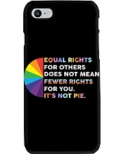 Its not pie yard sign Phone Case thumbnail