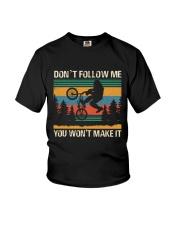 Bigfoot BMX Riding Won't Make It Youth T-Shirt thumbnail