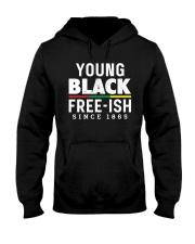 Young Black Freeish Since 1865 Hooded Sweatshirt thumbnail