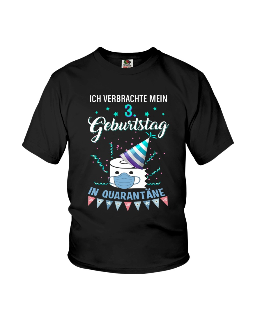 3 GermanySpent Birthday Youth T-Shirt