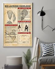Box lacrosse knowledge 11x17 Poster lifestyle-poster-1