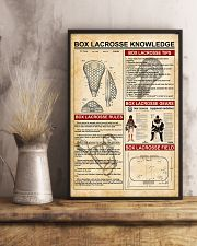 Box lacrosse knowledge 11x17 Poster lifestyle-poster-3