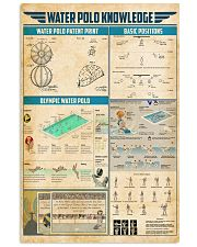 Water polo knowledge 11x17 Poster front