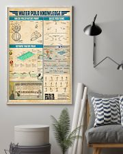 Water polo knowledge 11x17 Poster lifestyle-poster-1