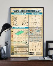 Water polo knowledge 11x17 Poster lifestyle-poster-2