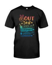 3rd grade Peace Out Classic T-Shirt thumbnail