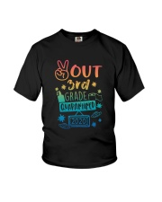 3rd grade Peace Out Youth T-Shirt front