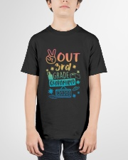 3rd grade Peace Out Youth T-Shirt garment-youth-tshirt-front-01