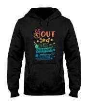 3rd grade Peace Out Hooded Sweatshirt thumbnail