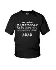 45th birthday essential worker Youth T-Shirt thumbnail