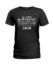 45th birthday essential worker Ladies T-Shirt thumbnail