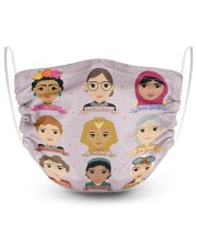 RBG sheroes 2 Layer Face Mask - Single front