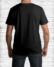Water Skiing Heartbeat DNA Classic T-Shirt lifestyle-mens-crewneck-back-1