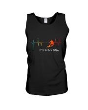 Water Skiing Heartbeat DNA Unisex Tank thumbnail