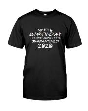 My 14th birthday the one where i was q Classic T-Shirt thumbnail