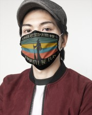 Witch underestimate retro 2 Layer Face Mask - Single aos-face-mask-2-layers-lifestyle-front-08