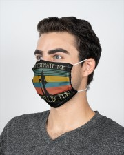 Witch underestimate retro 2 Layer Face Mask - Single aos-face-mask-2-layers-lifestyle-front-21