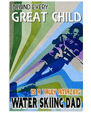 Great Child Amazing Dad Water Skiing 11x17 Poster front